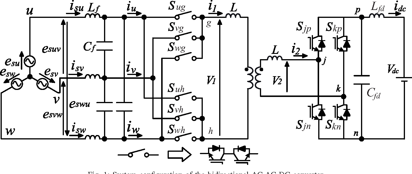 Modeling And Control Of Bidirectional Isolated Battery Charging Transformer Wiring Diagram Charger Figure 1