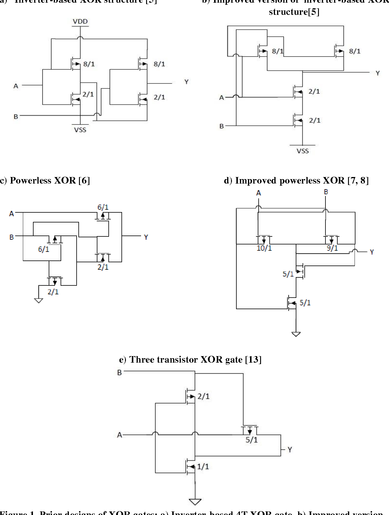 8 Bit Multiplier Circuit Diagram Wiring Library Logic Xor A High Speed And Low Power X Design Using Novel Two