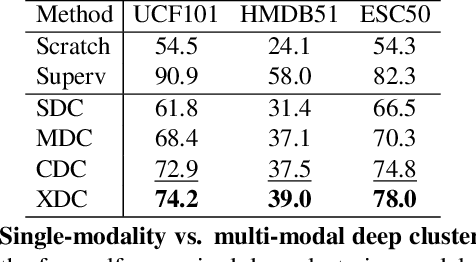 Figure 2 for Self-Supervised Learning by Cross-Modal Audio-Video Clustering