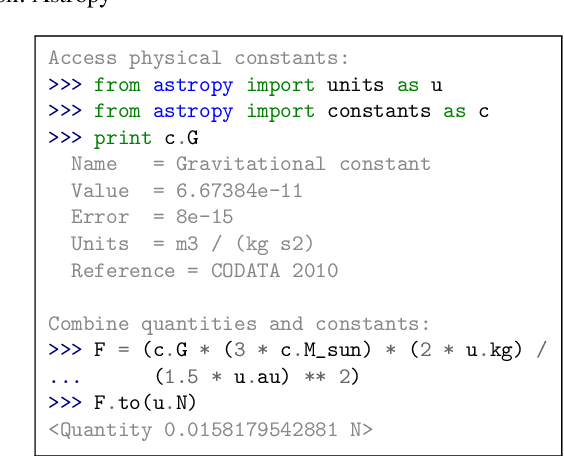 PDF] Astropy: A community Python package for astronomy - Semantic