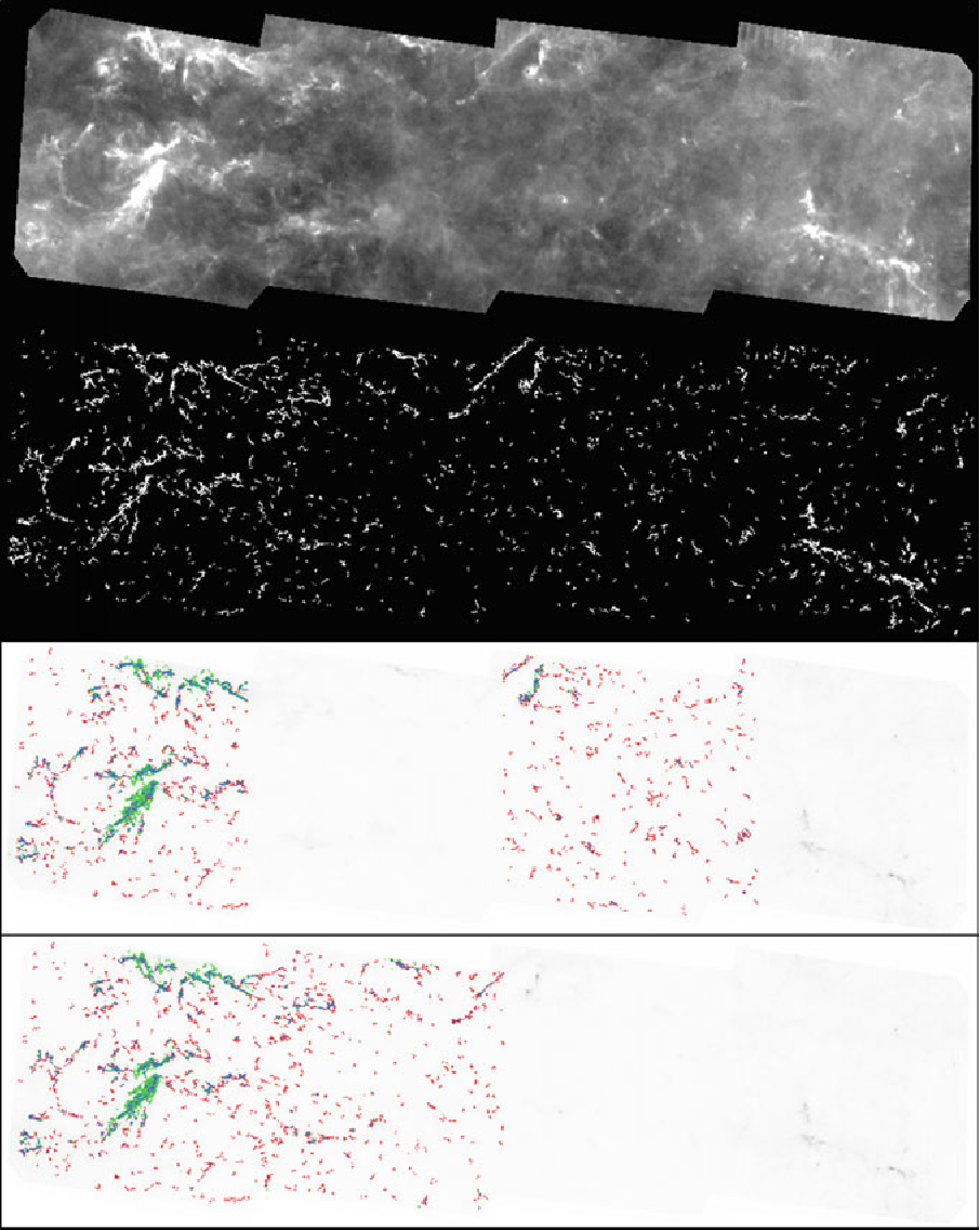 Figure 3 for Machine learning based data mining for Milky Way filamentary structures reconstruction