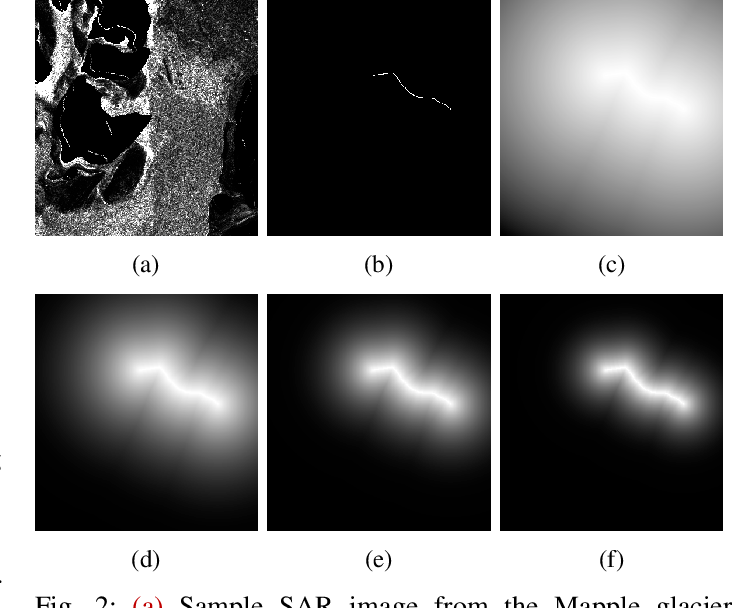 Figure 2 for Pixel-wise Distance Regression for Glacier Calving Front Detection and Segmentation