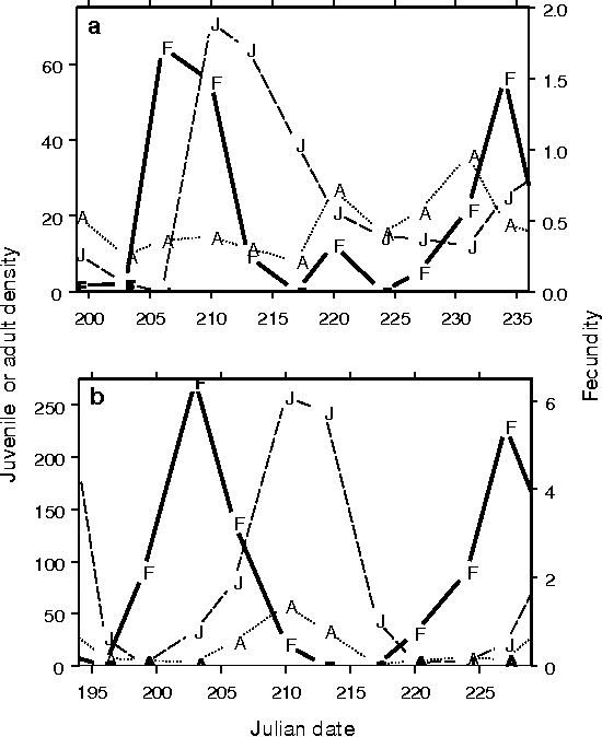 Large Amplitude Cycles Of Daphnia And Its Algal Prey In Enriched
