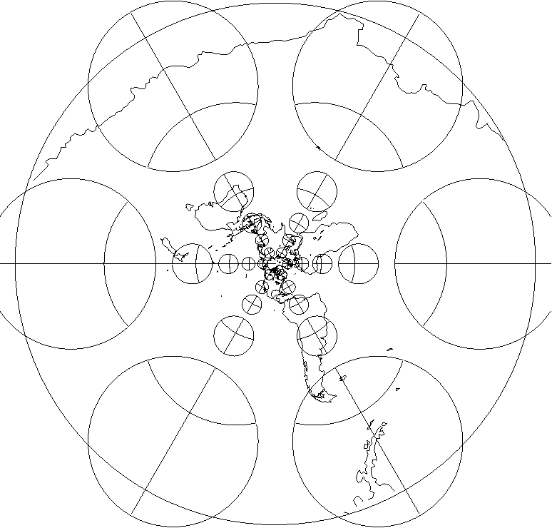 Figure 1 From Flexion And Skewness In Map Projections Of The Earth