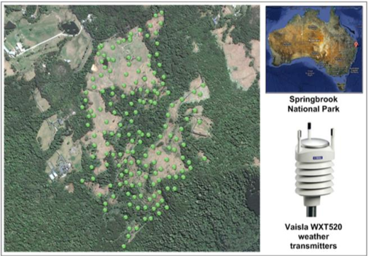 Figure 1 for Estimating Fire Weather Indices via Semantic Reasoning over Wireless Sensor Network Data Streams