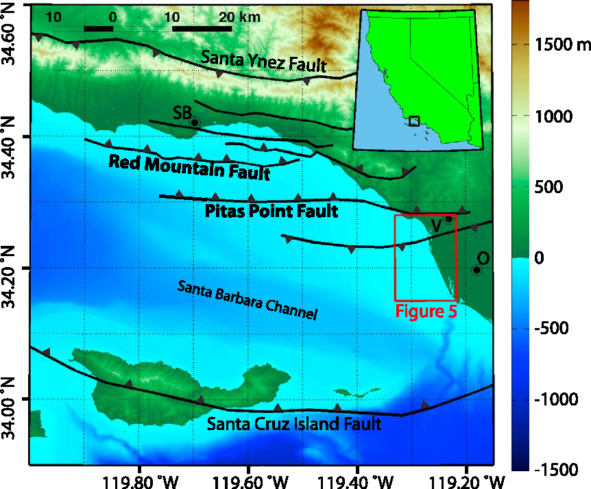 Figure 1 from Dynamic models of an earthquake and tsunami offshore