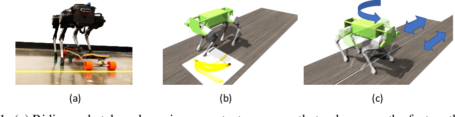 Figure 1 for Learning a Contact-Adaptive Controller for Robust, Efficient Legged Locomotion