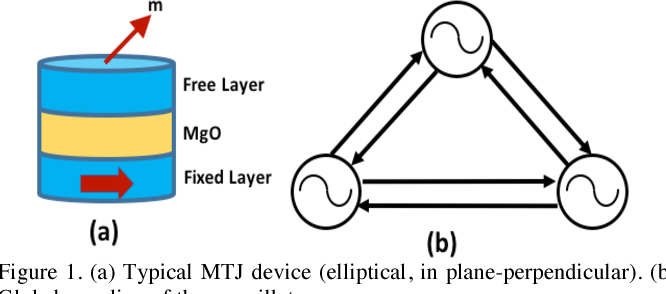 Spin transfer torque driven coupled oscillators for self