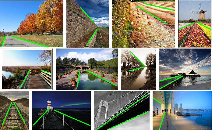 Figure 1 for Detecting Dominant Vanishing Points in Natural Scenes with Application to Composition-Sensitive Image Retrieval