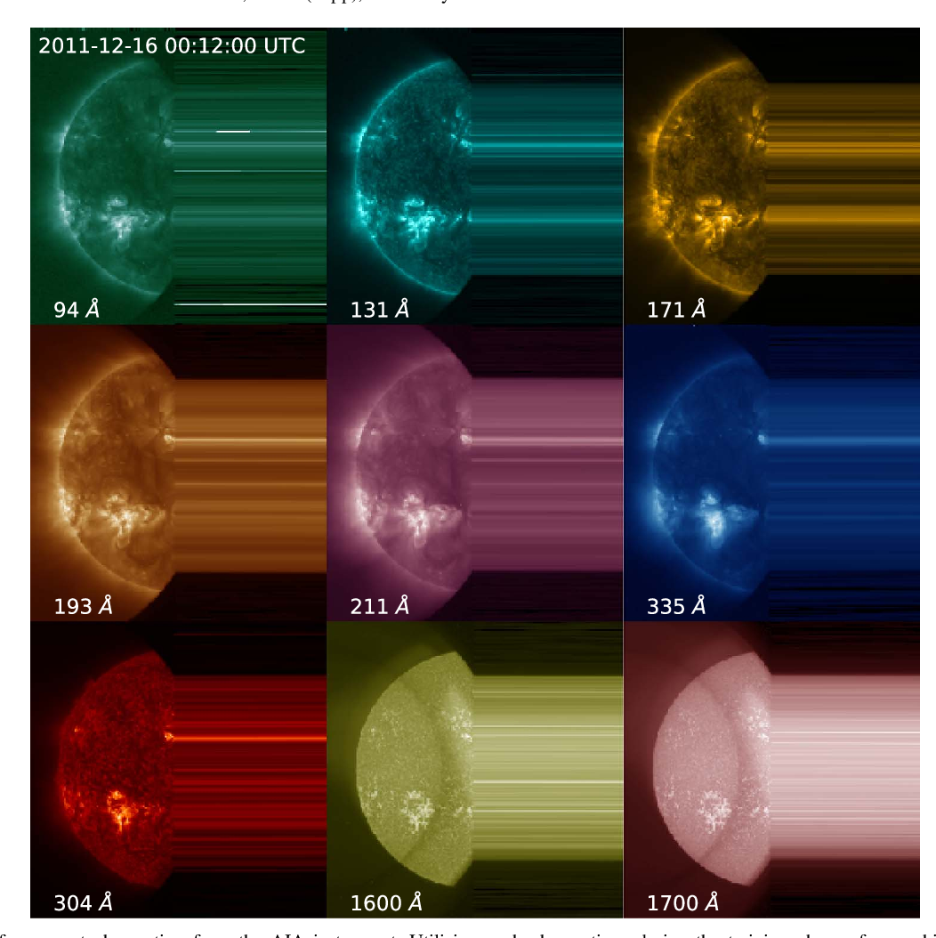 Figure 1 for A Machine Learning Dataset Prepared From the NASA Solar Dynamics Observatory Mission