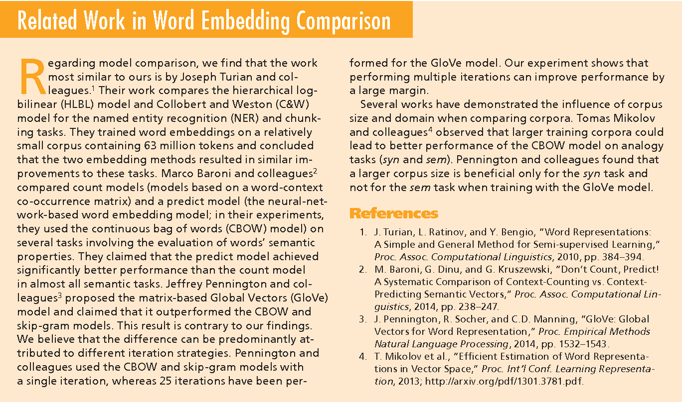 Figure 1 for How to Generate a Good Word Embedding?
