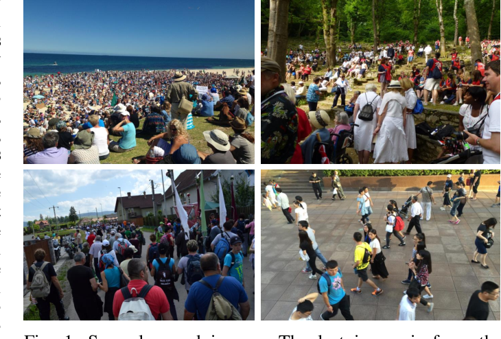 Figure 1 for PaDNet: Pan-Density Crowd Counting