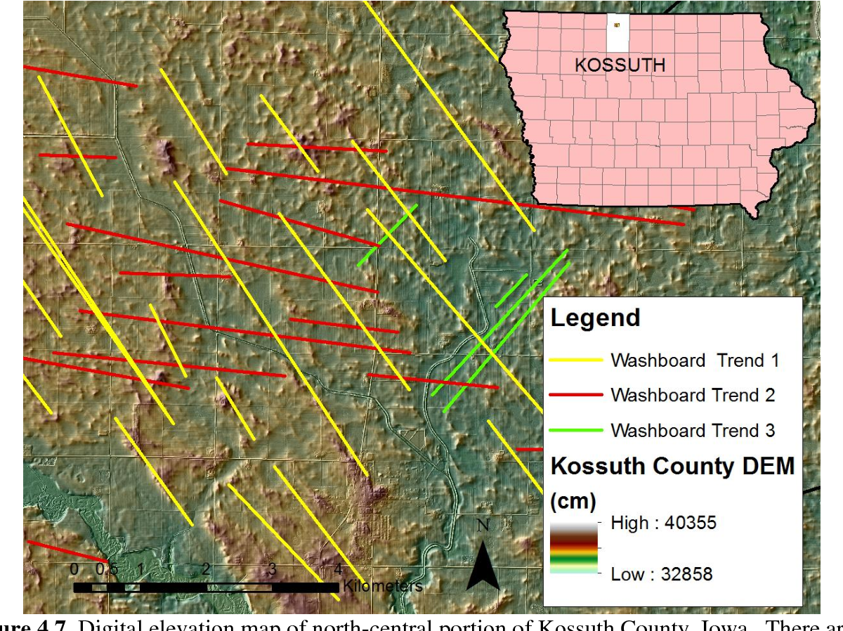 Figure 4 7 from Spatial analysis of Des Moines Lobe