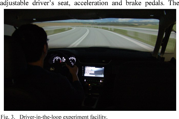 Figure 3 from In-vehicle information system as a driver's