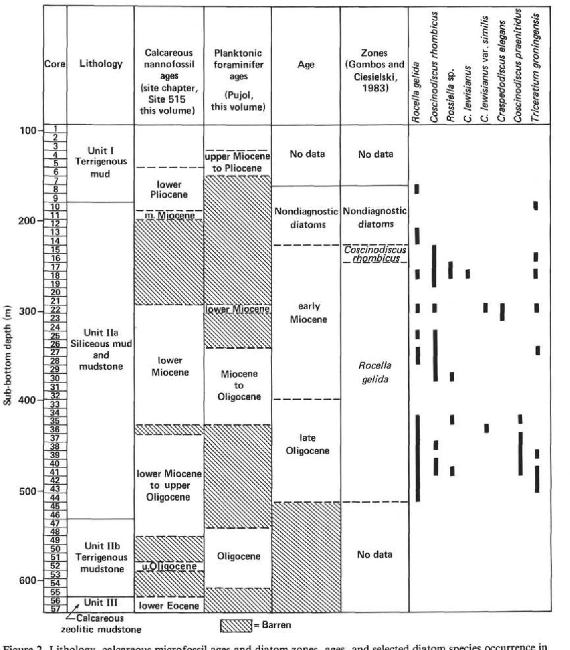 PDF] SURVEY OF DIATOMS IN THE UPPER OLIGOCENE AND LOWER