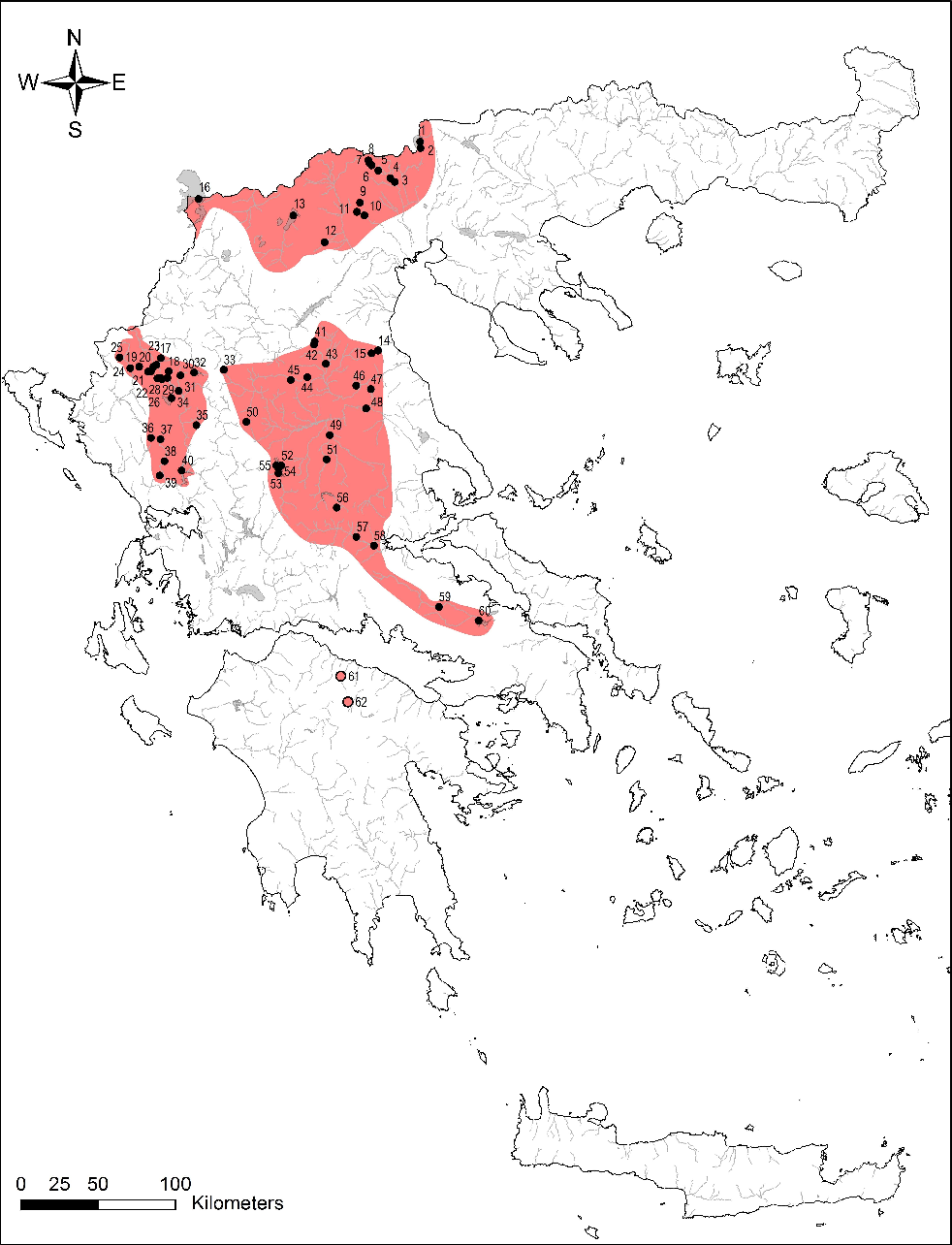 freshwater crayfish distribution update and maps for greece Alps Mountains Map freshwater crayfish distribution update and maps for greece bining literature and citizen science data semantic scholar