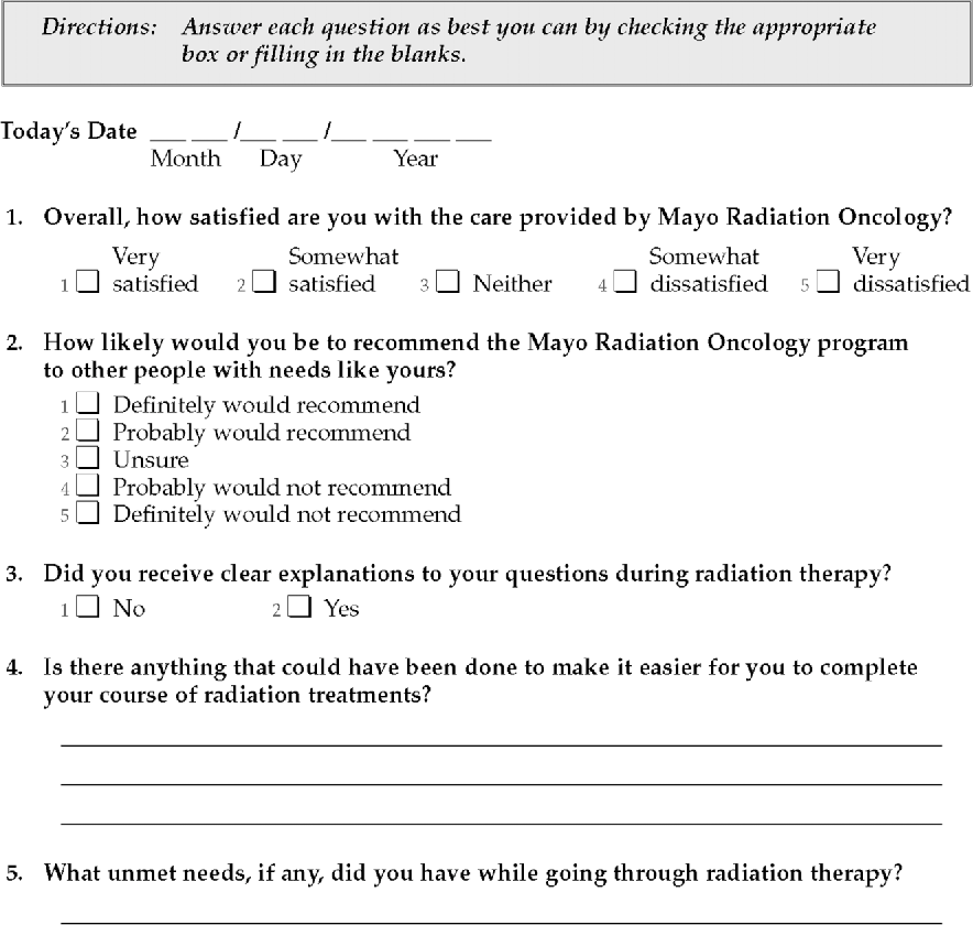 Figure 1 From Measuring Satisfaction With Social Work Services
