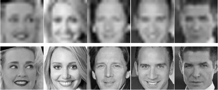 Figure 1 for Deep Rival Penalized Competitive Learning for Low-resolution Face Recognition