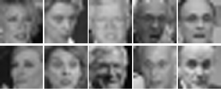 Figure 3 for Deep Rival Penalized Competitive Learning for Low-resolution Face Recognition