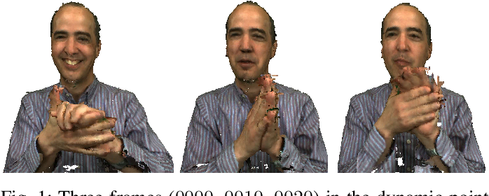 Figure 1 for 3D Dynamic Point Cloud Denoising via Spatial-Temporal Graph Learning