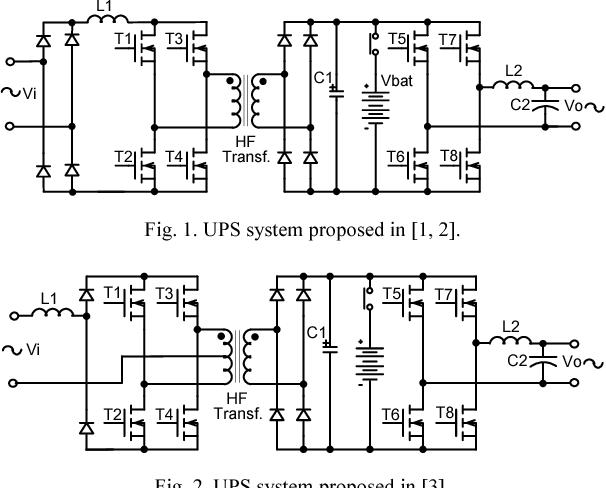 A high frequency transformer isolation 110V220V input voltage UPS