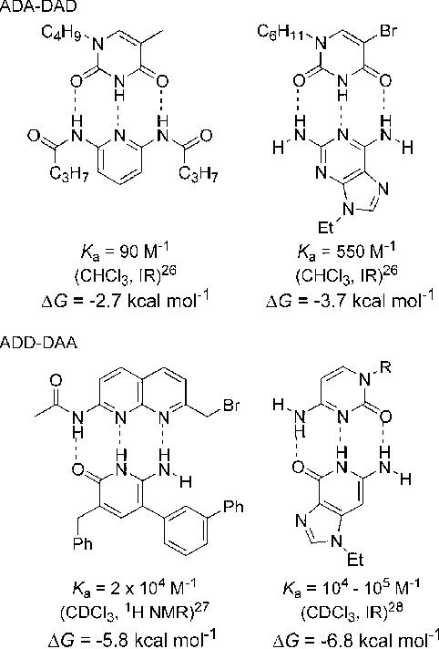 Figure 10 from AAA-DDD triple hydrogen bond complexes