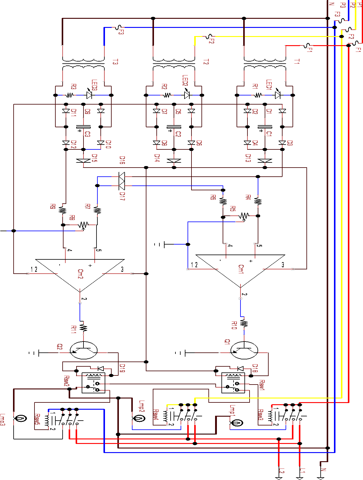 Design And Implementation Of Automatic Three Phase Changer Using Lm The Lm324 Quad Comparator Circuit 324 Integrated Semantic Scholar