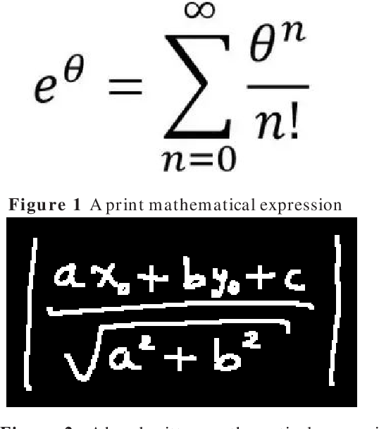 Figure 1 for Robust Encoder-Decoder Learning Framework towards Offline Handwritten Mathematical Expression Recognition Based on Multi-Scale Deep Neural Network