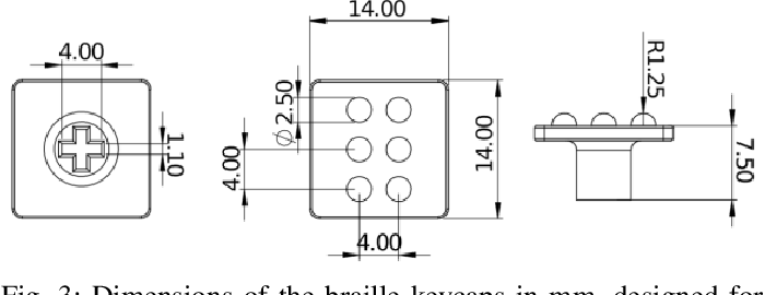 Figure 3 for Deep Reinforcement Learning for Tactile Robotics: Learning to Type on a Braille Keyboard