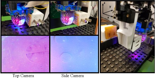 Figure 2 for OmniTact: A Multi-Directional High Resolution Touch Sensor