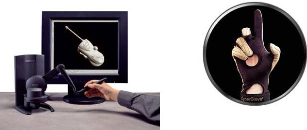 Figure 1 for Périphériques haptiques et simulation d'objets, de robots et de mannequins dans un environnement de CAO-Robotique : eM-Virtual Desktop