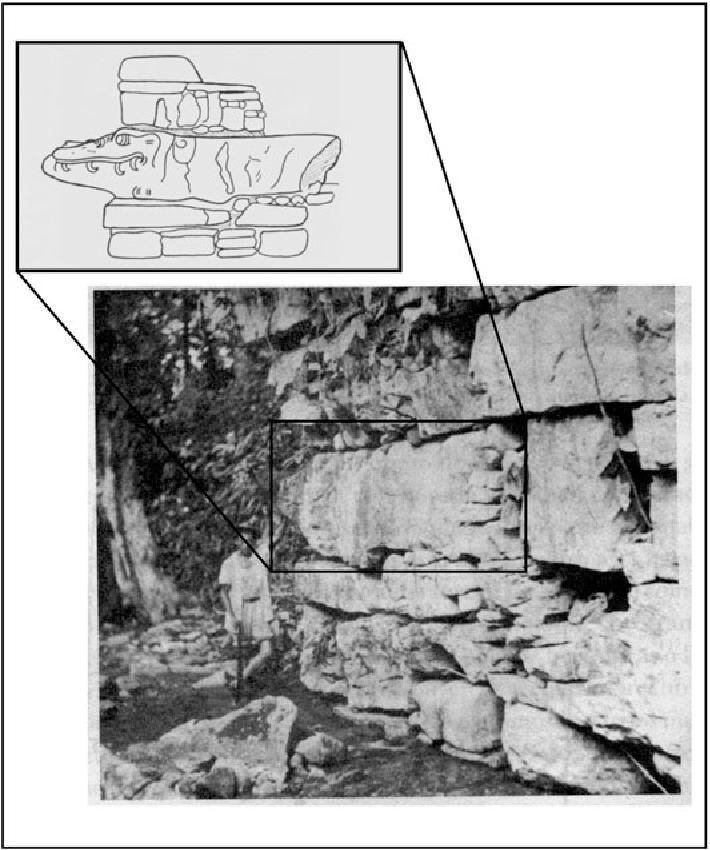 Fig. 17 Crocodile effigy