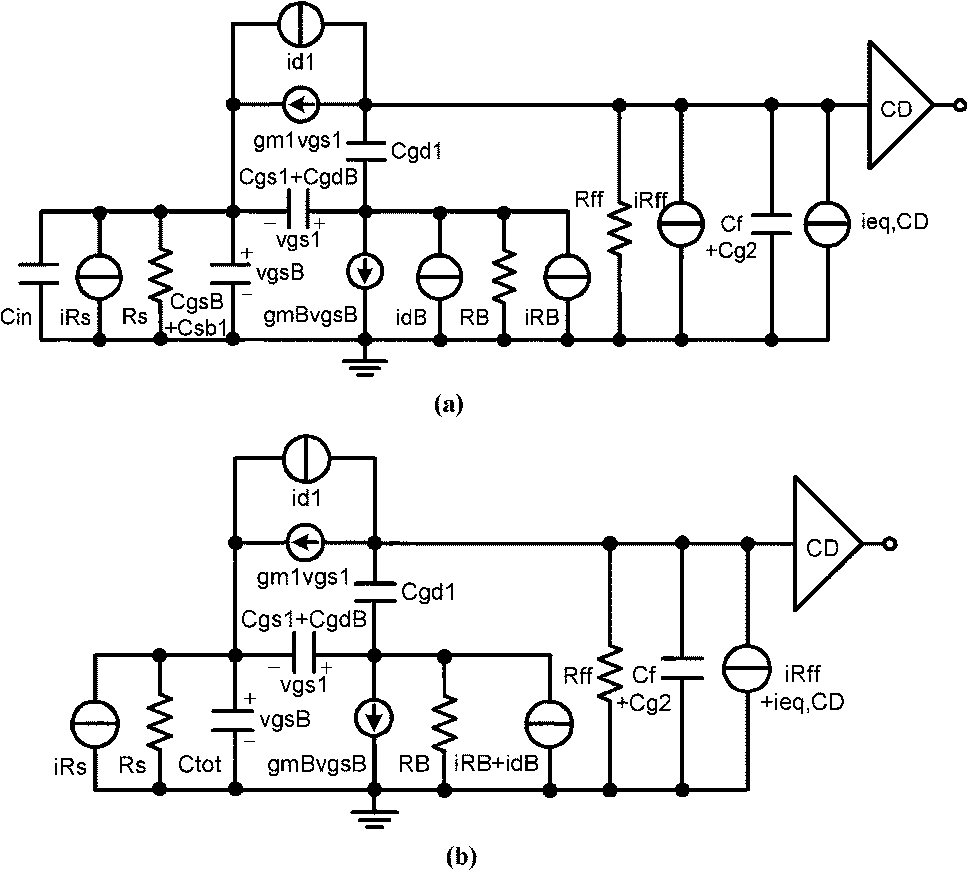 Figure 1 From 125 Gb S Regulated Cascode Cmos Transimpedance Amplifier Circuit Diagram Electronic Circuits For Gigabit Ethernet Applications