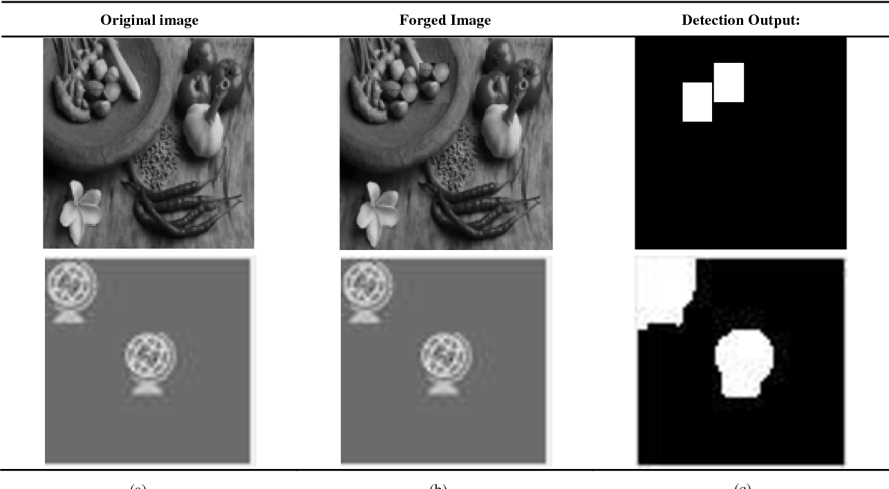 Figure 4 for Intensity and Rescale Invariant Copy Move Forgery Detection Techniques