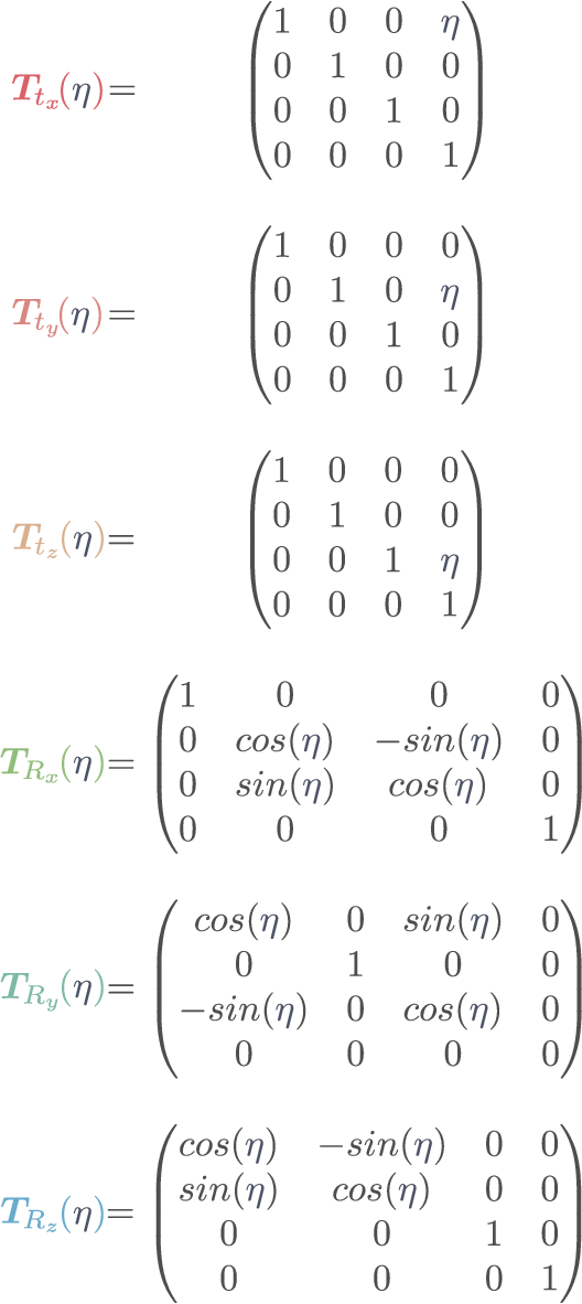 Figure 2 for A Systematic Approach to Computing the Manipulator Jacobian and Hessian using the Elementary Transform Sequence