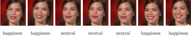 Figure 3 for Emotion Recognition in Speech using Cross-Modal Transfer in the Wild
