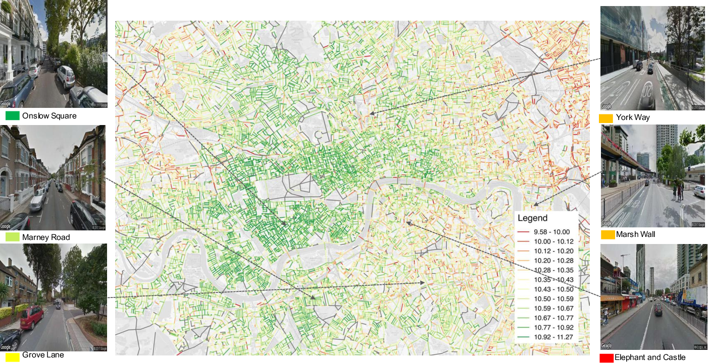 Figure 1 for Take a Look Around: Using Street View and Satellite Images to Estimate House Prices