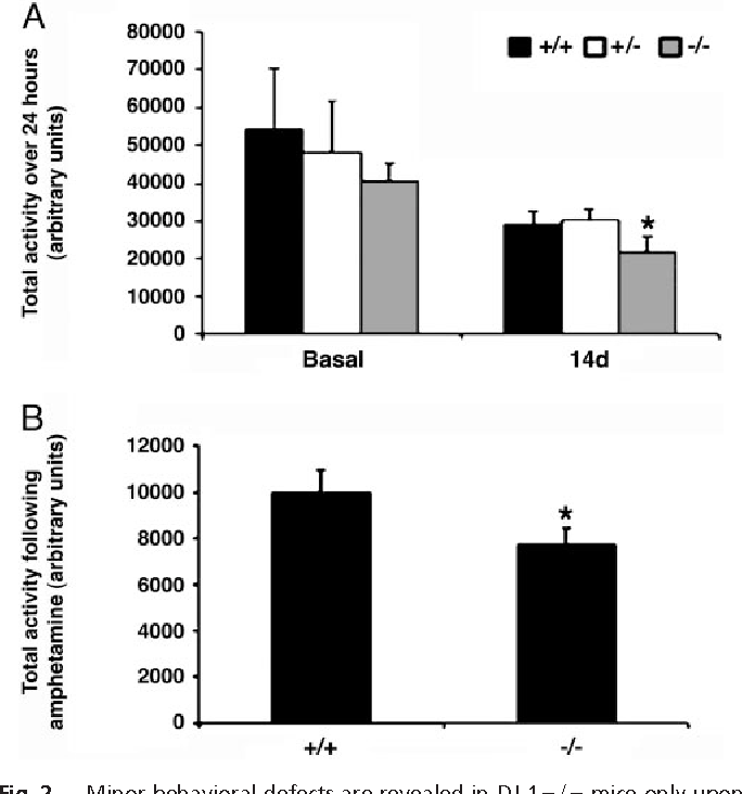Figure 2 from Hypersensitivity of DJ-1-deficient mice to 1-methyl-4