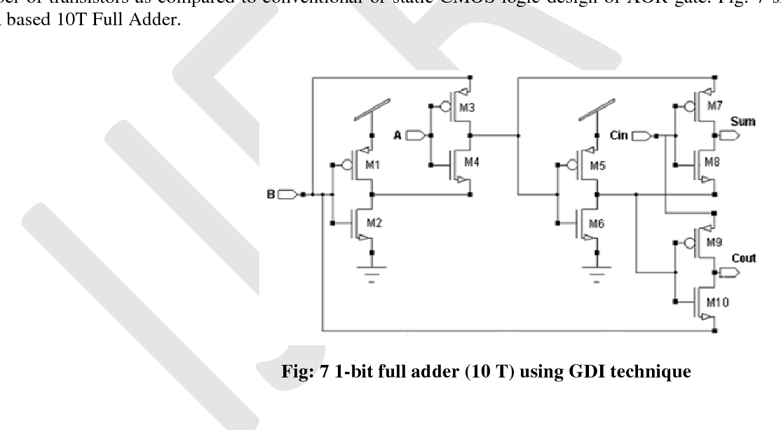 Analysis and Performance Evaluation of 1-bit Full Adder Using ...