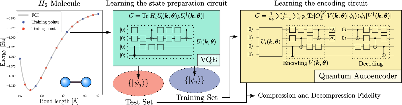 Figure 3 for A semi-agnostic ansatz with variable structure for quantum machine learning