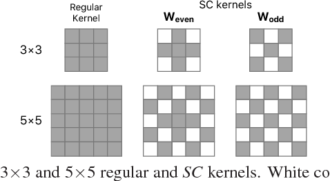 Figure 2 for Efficient Fusion of Sparse and Complementary Convolutions