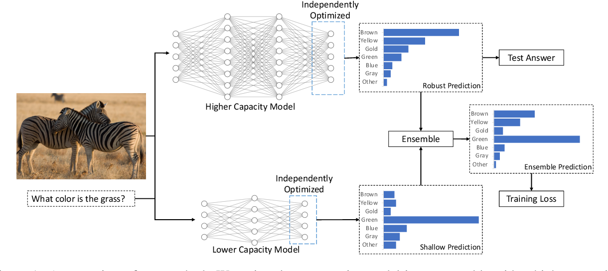 Figure 1 for Learning to Model and Ignore Dataset Bias with Mixed Capacity Ensembles