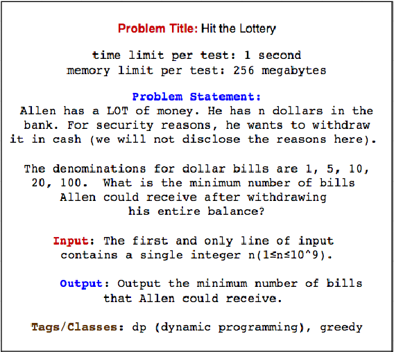 Figure 1 for Predicting Algorithm Classes for Programming Word Problems