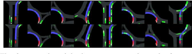 Figure 3 for Model-free Deep Reinforcement Learning for Urban Autonomous Driving