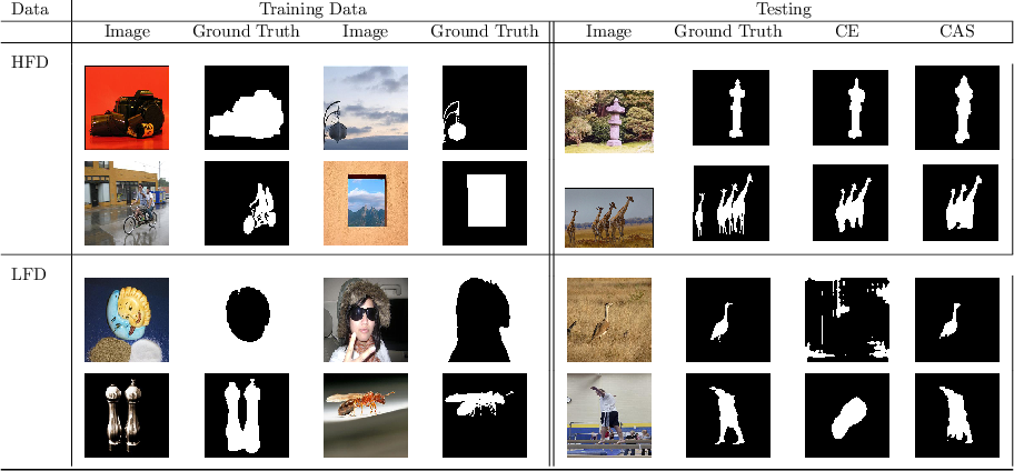 Figure 1 for Class-Agnostic Segmentation Loss and Its Application to Salient Object Detection and Segmentation