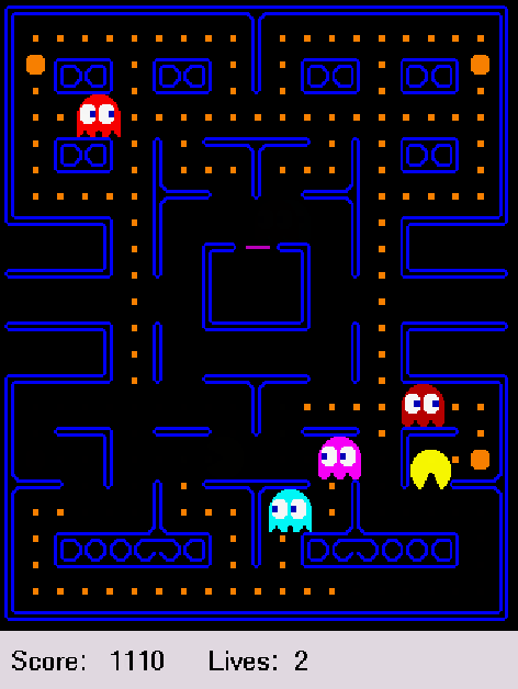 Figure 1 for Low-complexity modular policies: learning to play Pac-Man and a new framework beyond MDPs