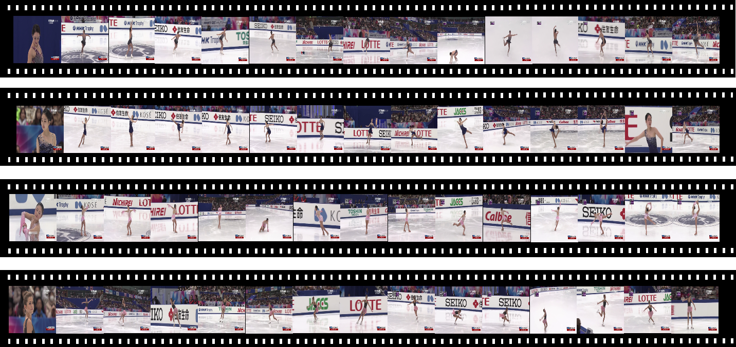 Figure 1 for Learning to score the figure skating sports videos