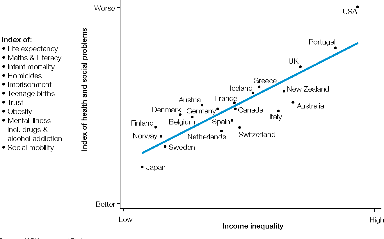 Does Income Inequality Cause Health And Social Problems Semantic