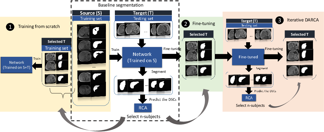 Figure 3 for Domain Adaptation for MRI Organ Segmentation using Reverse Classification Accuracy