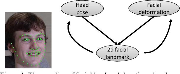 Figure 1 for Simultaneous Facial Landmark Detection, Pose and Deformation Estimation under Facial Occlusion